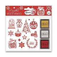 Razítka Stampo Nöel Aladine - Veselé Vánoce