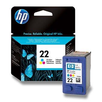 Obrázek produktu Cartridge HP C9352AE  č. 22 pro inkoustové tiskárny - color (barevná)
