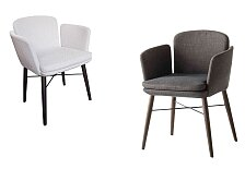 Židle s područkami Lema Tabby