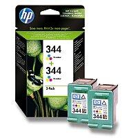 2x cartridge HP C9363E - color č. 344 (barevná) pro inkoustové tiskárny