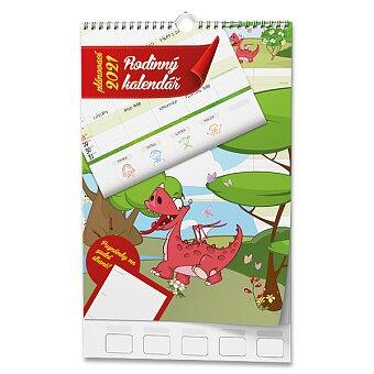 Obrázek produktu Rodinný plánovací kalendář 2021 - nástěnný