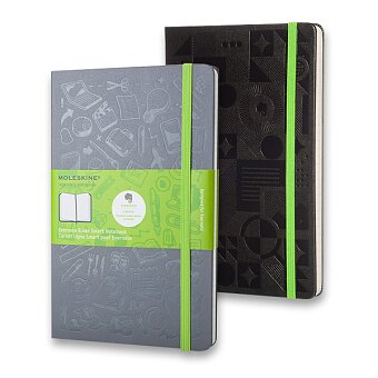 Obrázek produktu Zápisník v tvrdých deskách Moleskine Envernote - 13 x 21 cm, linkovaný, výběr barev