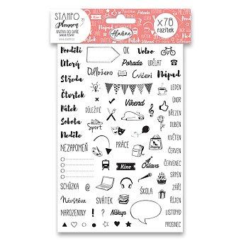 Obrázek produktu Razítka Stampo Planner Aladine - Celoroční - 78 ks
