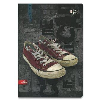 Obrázek produktu Školní sešit The Best Sneakers - A5, linkovaný, 40 listů, mix motivů