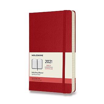 Obrázek produktu Diář Moleskine 2021 - tvrdé desky - L, denní, výběr barev