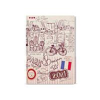 Týdenní diář B6 Paříž