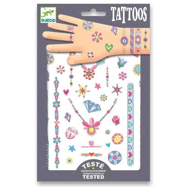 Tetování Djeco Na parádu Djeco