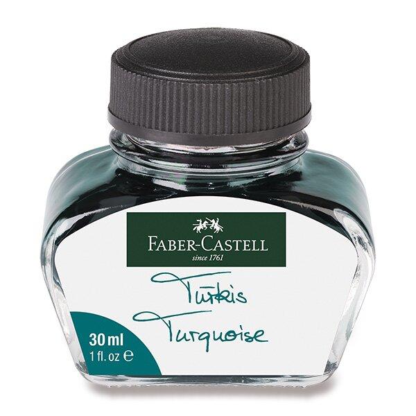 Inkoust Faber-Castell tyrkysový