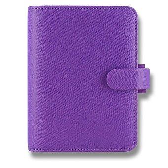 Obrázek produktu Kapesní diář Filofax Saffiano A7 - fialový