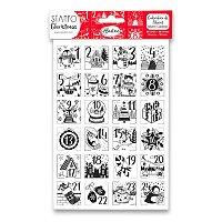 Razítka Stampo Christmas Aladine - Adventní kalendář