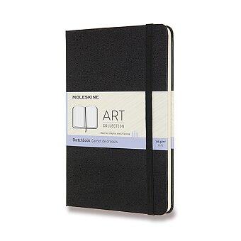 Obrázek produktu Skicář Moleskine - tvrdé desky - M, čistý, černý