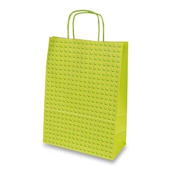 Obrázek produktu Dárková taška Dots - zelená, různé rozměry