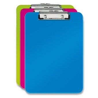 Obrázek produktu Psací podložka s klipem Leitz Wow - A4, výběr barev