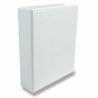 Obrázek produktu 4-kroužkový pořadač Esselte - plast, A4, 77 mm, bílý