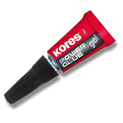 Obrázek produktu Kores Power Glue Gel - sada gelových vteřinových lepidel