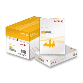 Obrázek produktu Kancelářský papír Xerox Exclusive - A4, 5 x 500 listů, výběr gramáží