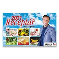 Stolní kalendář Receptář 2021