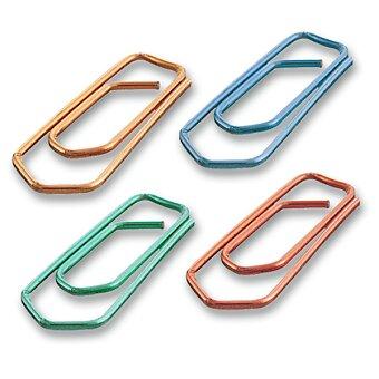 Obrázek produktu Sponky Maped barevné - 25 mm, 100 ks, krabička