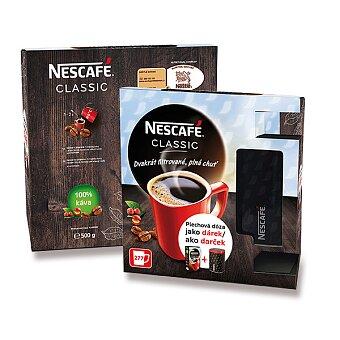 Obrázek produktu Instantní káva Nescafé Classic v dárkovém balení s dózou - 500 g