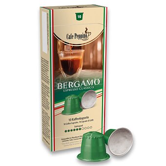 Obrázek produktu Kávové kapsle Cafe Peppino Bergamo - 10 kapslí