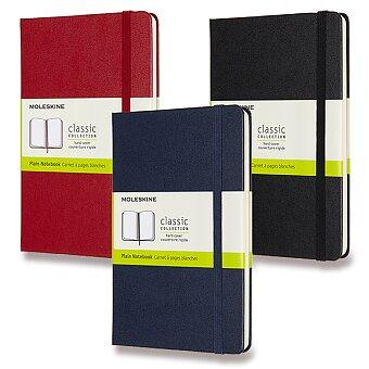 Obrázek produktu Zápisník Moleskine - tvrdé desky - M, čistý, výběr barev