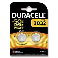 Lithiové baterie Duracell DL 2032 (CR 2032)