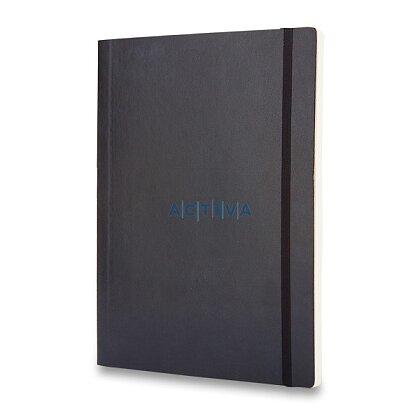 Obrázek produktu Moleskine - zápisník v měkkých deskách - 19 x 25 cm, čtverečkovaný, černý