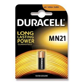 Obrázek produktu Alkalická baterie Duracell 12 V - MN 21 (A23, V23GA)