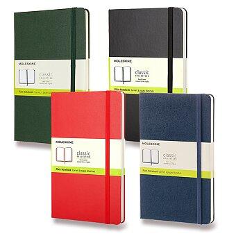 Obrázek produktu Zápisník Moleskine - tvrdé desky - L, čistý, výběr barev