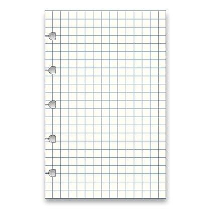 Obrázek produktu Filofax Notebook Classic - náhradní listy - kapesní, čtverečkované, 32 listů