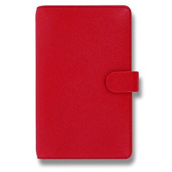 Obrázek produktu Osobní diář Filofax Saffiano Compact A6 - červený