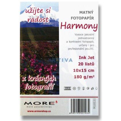 Obrázok produktu More Harmony Matt - fotografický papier - 10 x 15 cm, 180 g, 25 listov, matný