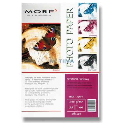 Obrázok produktu More Harmony Matt - fotografický papier - A4, 180 g, 25 listov, matný