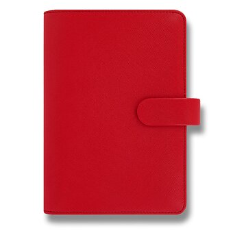 Obrázek produktu Osobní diář Filofax Saffiano A6 - červený