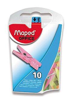 Obrázek produktu Mini kolíčky Maped - barevné, krabička