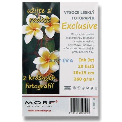 Obrázok produktu More Exclusive - fotografický papier - 10 x 15 cm, 260 g, 20 listov
