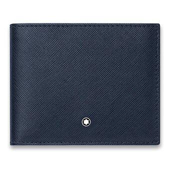 Obrázek produktu Peněženka Montblanc Sartorial - 6 cc, modrá