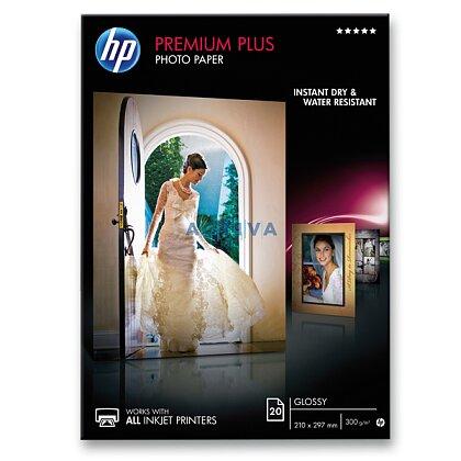 Obrázok produktu HP Premium Plus Photo Paper - fotografický papier CR 672 A - A4, 300 g, 20 listov, lesklý