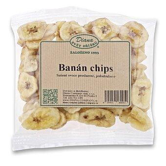 Obrázek produktu Sušený banán Diana - 100 g