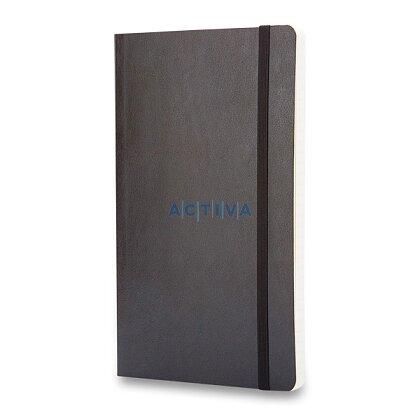 Obrázek produktu Moleskine - zápisník v měkkých deskách - 9 x 14 cm, linkovaný, černý