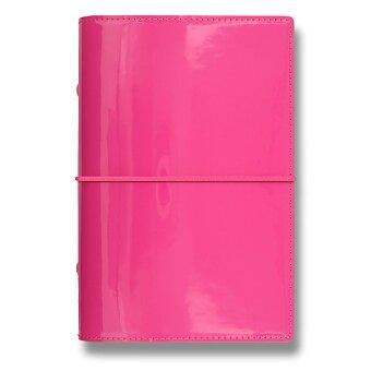 Obrázek produktu Osobní diář Filofax Domino Patent A6 - růžový