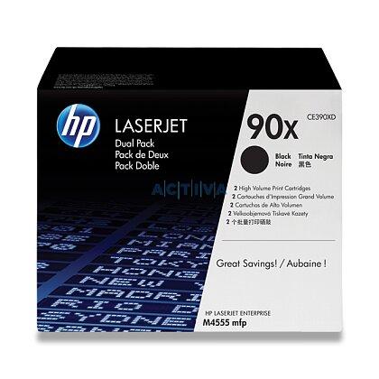 Obrázek produktu HP - toner CE390XD, dual pack pro laserové tiskárny