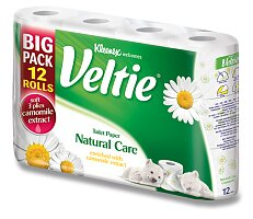 Toaletní papír Veltie Kleenex Natural Care
