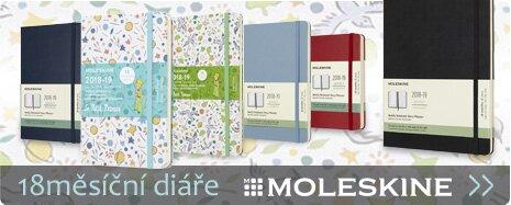 Moleskine - 18ti měsíční diáře