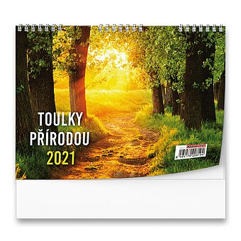 Obrázek produktu Stolní kalendář Toulky přírodou 2021 - obrázkový