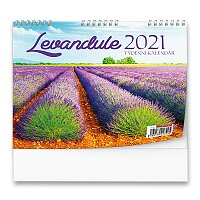 Stolní kalendář Levandule 2021