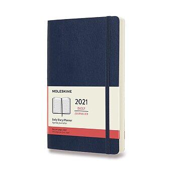 Obrázek produktu Diář Moleskine 2021 - měkké desky - L, denní, výběr barev