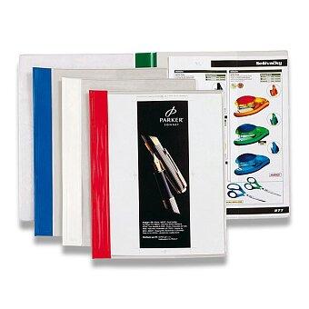 Obrázek produktu Plastový rychlovazač s kapsou Esselte - A4, výběr barev hřbetu