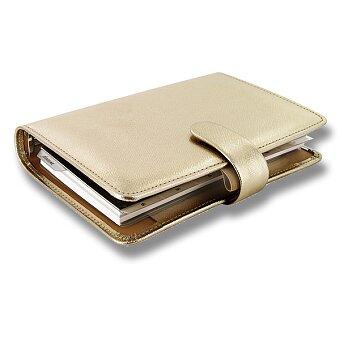 Obrázek produktu Osobní diář Filofax Saffiano A6 - zlatý