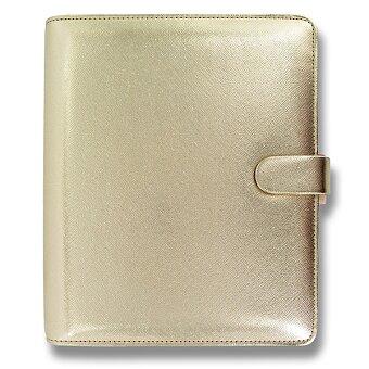 Obrázek produktu Diář A5 Filofax Saffiano - zlatý